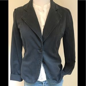 French Connection casual 2 button unlined blazer